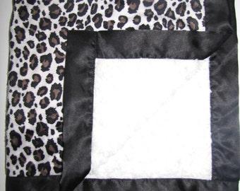 "New Baby nursery receiving blanket girl boy shower gift You choose 20 prints 30"" satin edge animal print"
