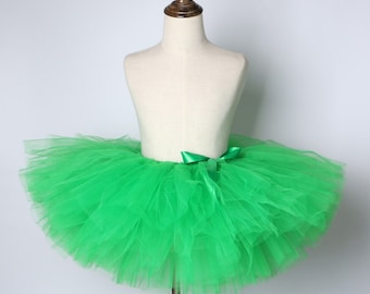 St Patricks day Birthday Marathon running tutu adult women teen jr  girl baby green Dance Ballet