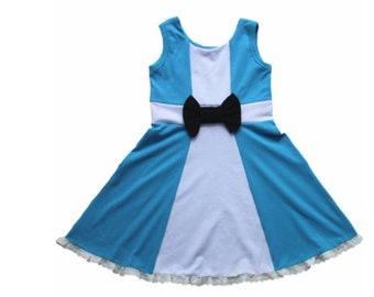 child princess Alice Halloween costume inspired  dress 1 - 5 yrs