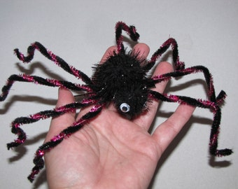 Halloween hair clip costume decor spider accessorie