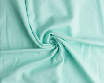 """Comfy Cozy Flannel Fabric Solids 100% Cotton  by the yard  Fast shipping  43"""" wide aqua sky"""