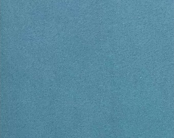 """Comfy Cozy Flannel Fabric Solids 100% Cotton  by the yard  Fast shipping  43"""" wide light  sky  Adriatic Blue"""
