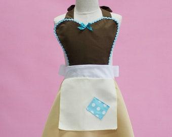 Cinderella Halloween costume inspired apron child pretend play
