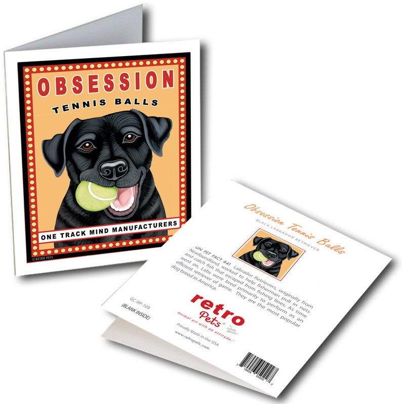 Yellow Lab Cards  Lovable Lab 6 Small Greeting Cards by Krista Brooks