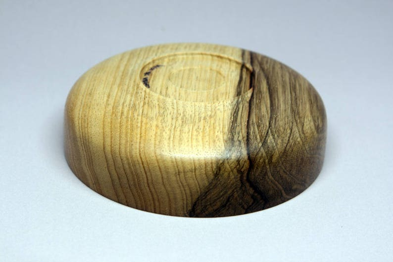 Black Limba bowl crafted by Chris Keel hand turned CKB057