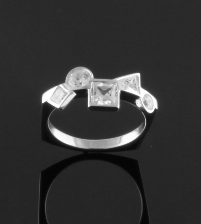 Diamond Platinum Ring image 0