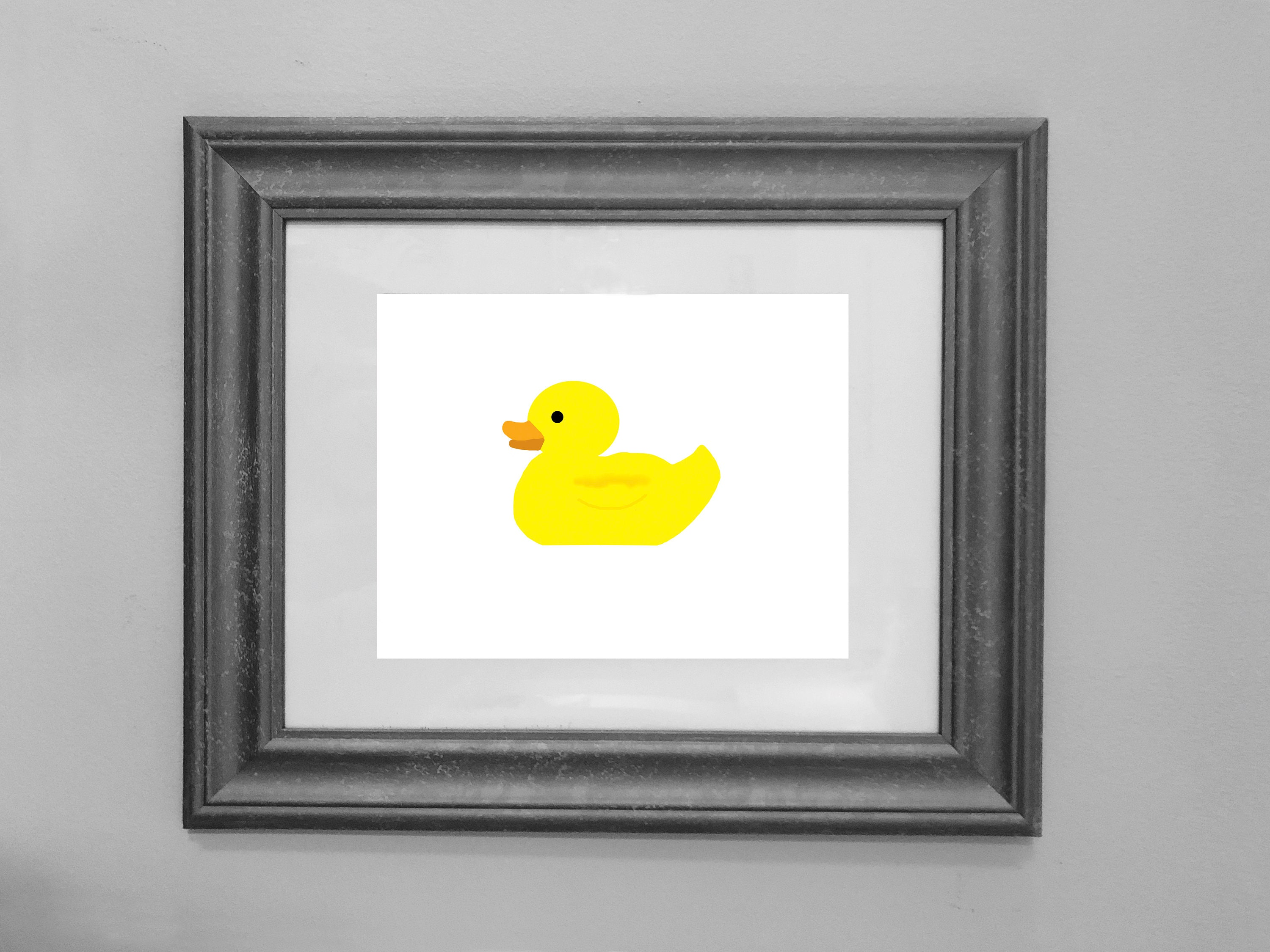 Rubber Ducky Printable / Bathroom Decor / Birthday Party | Etsy