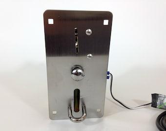 USB Coin Slot - Photobooth DIY computer quarter token acceptor - coin op - Stainless Steel
