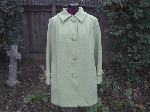 Mod Coat Mad Men Coat 1960s Coat 60s Coat Car Coat