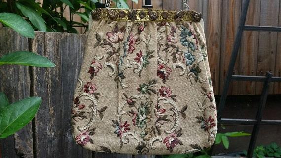 Tapestry Purse Tapestry Handbag Vintage Tapestry P