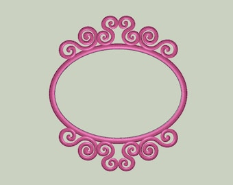 Parisian Frame Applique Design