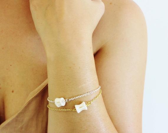 Vertebrae Charm Bracelet