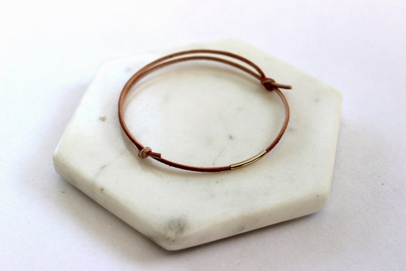 Everyday Leather Bracelet