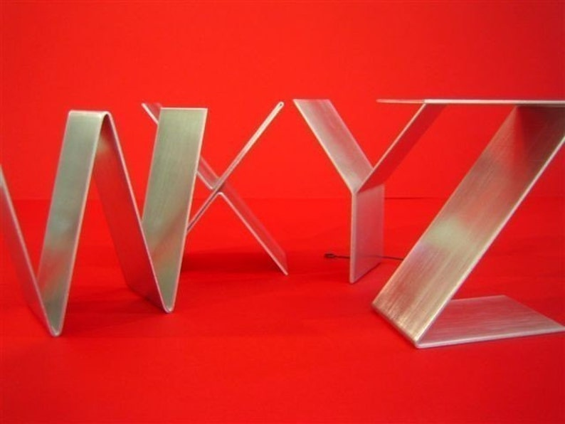 Letters freestanding/Initials/Alphabet A-Z signage/Empire real image 0