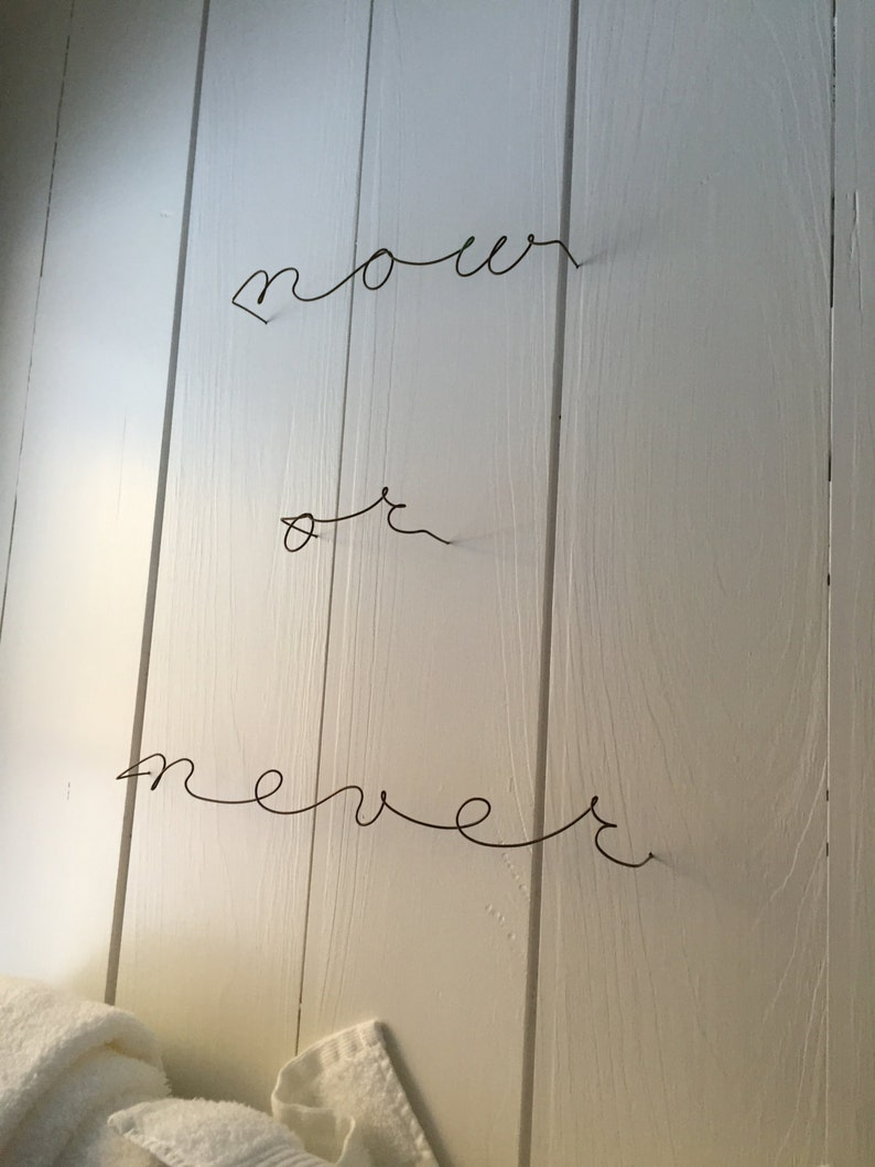 Custom metal names/signs-wire words Now also available in a image 0