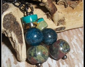 Turquoise Earrings, Apati...