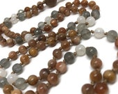 Moonstone mala, moonstone prayer beads