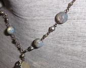 Labradorite Necklace,  Py...