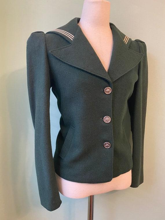 1930s 30s 1940s40s vintage green sailor suits xs