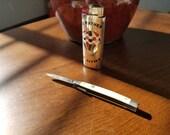 Lot Vintage Imperial Pocket Knife and Metal Lighter Cover