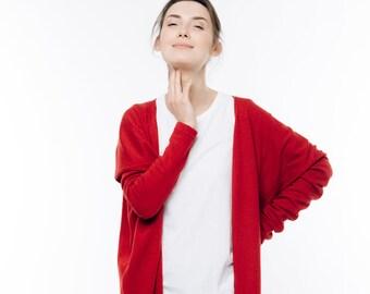 Cardigan de LeMuse rouge PASSION