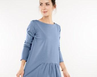 Light blue dress | Special dress | Trendy dress | LeMuse light blue dress