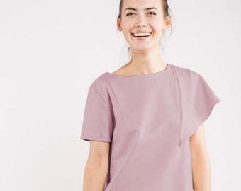 Disco dress | Dusty pink dress | Rose quartz dress | LeMuse disco dress