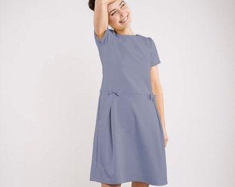 LeMuse robe d'été MADMUAZEL bleu clair