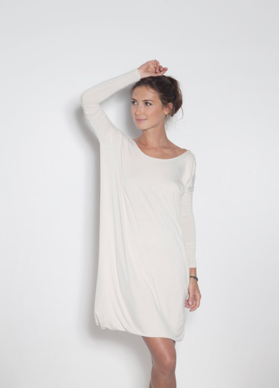 Backless bow LeMuse dress White dress Dress white dress with black qaxUn5wf7