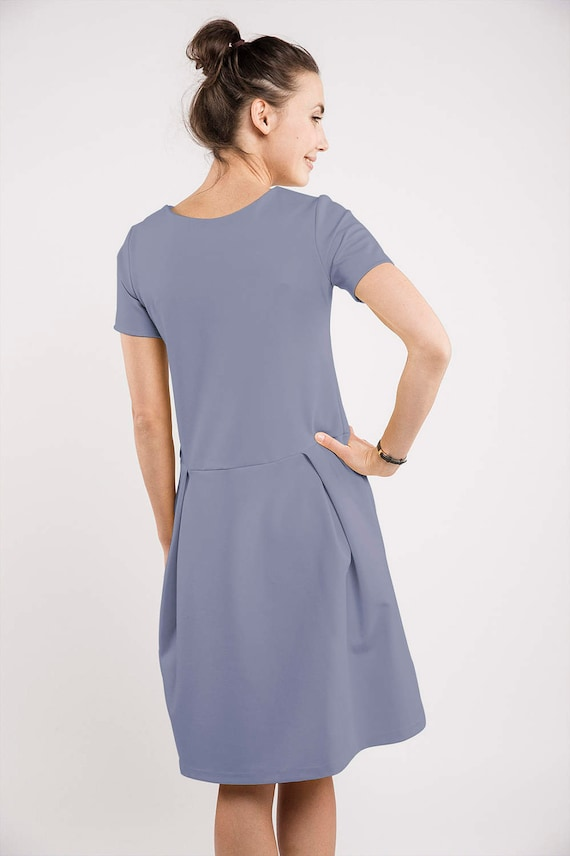 MADMUAZEL dress blue light LeMuse SUMMER qPg1wvF