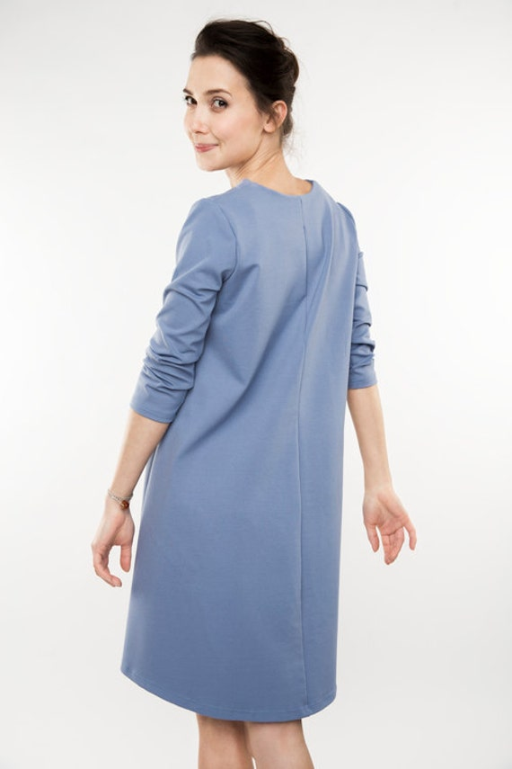 dress formal LeMuse dress Plain dress blue Formal Pale dress dw4qvx
