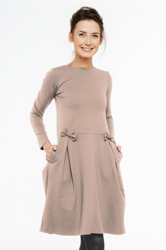 japanese dress Modest dress LeMuse Neutral dress Japanese dress vEUwqY5vR