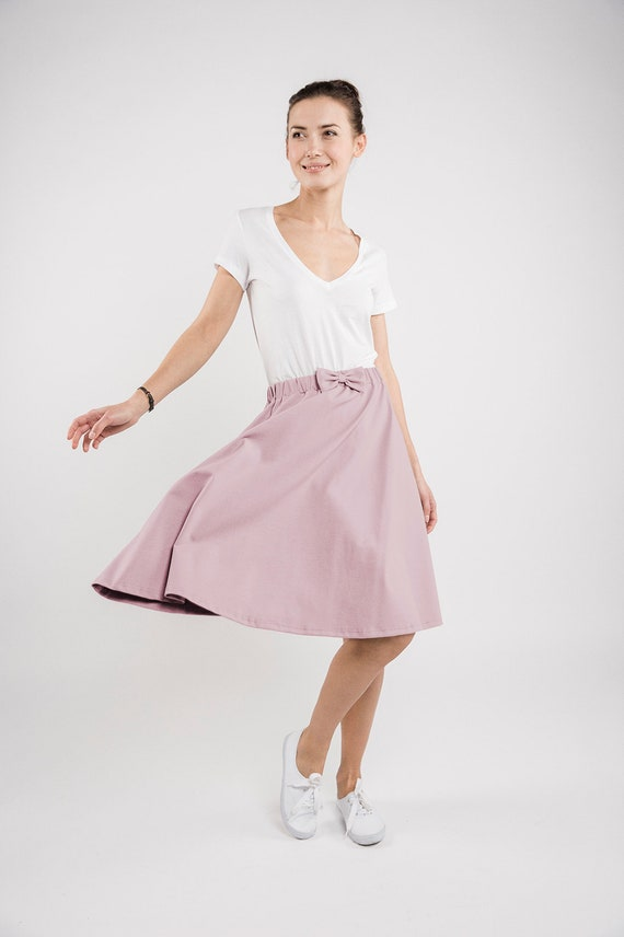 rose skirt CINDY LeMuse LeMuse dusty rose dusty zO8d70wqw