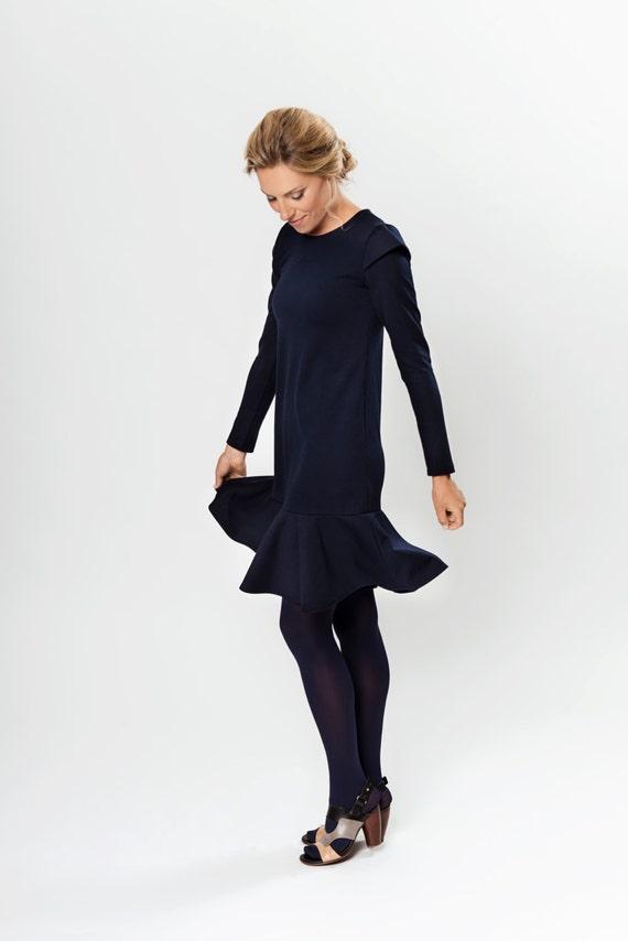 dress Minimalist dress autumn waist dress Low dress LeMuse Autumn xRwd8A5x