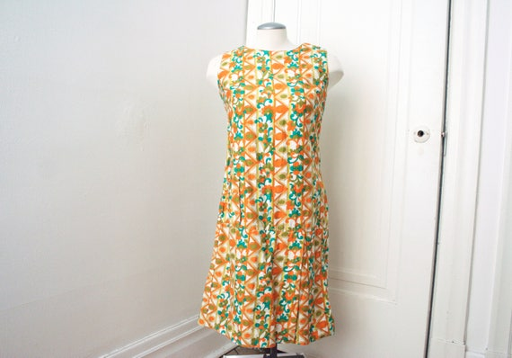 VTG 60s Mod Romper|60s Romper|Mod Dress|60s Playsu
