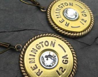 Shotgun Shell Earrings - Bullet Earrings - Dangle Earrings G4