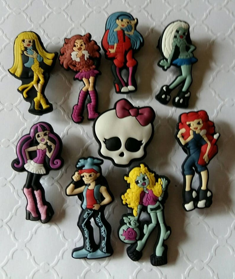 Girls Magnets or Shoe Charms