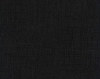 Timeless Treasures - Mix Basic - Blender Texture - Black - Cotton Fabric by the Yard or Select Length C7200-BLK