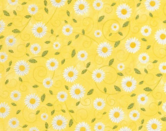 Timeless Treasures - You Are My Sunshine - Sunflowers - Yellow - Cotton Fabric by the Yard or Select Length C5498-YLW