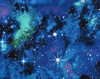 Timeless Treasures - Out of this World - Galaxy - Cotton Fabric by the Yard or Select Length C4847-GALAX