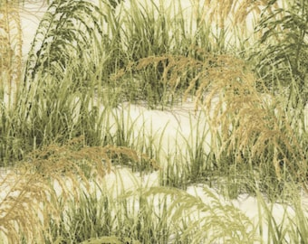 Timeless Treasures  - Beach Haven - Beach Grass - Fabric by the Yard C5354-GRASS