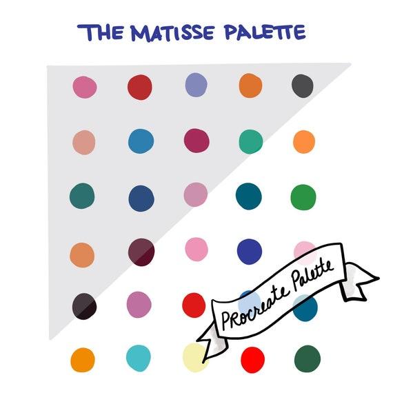 Wonderland 30 Color Palette for Procreate  Bright /& Fun Color Palette Digital Color Swatches  iPad  Instant Download