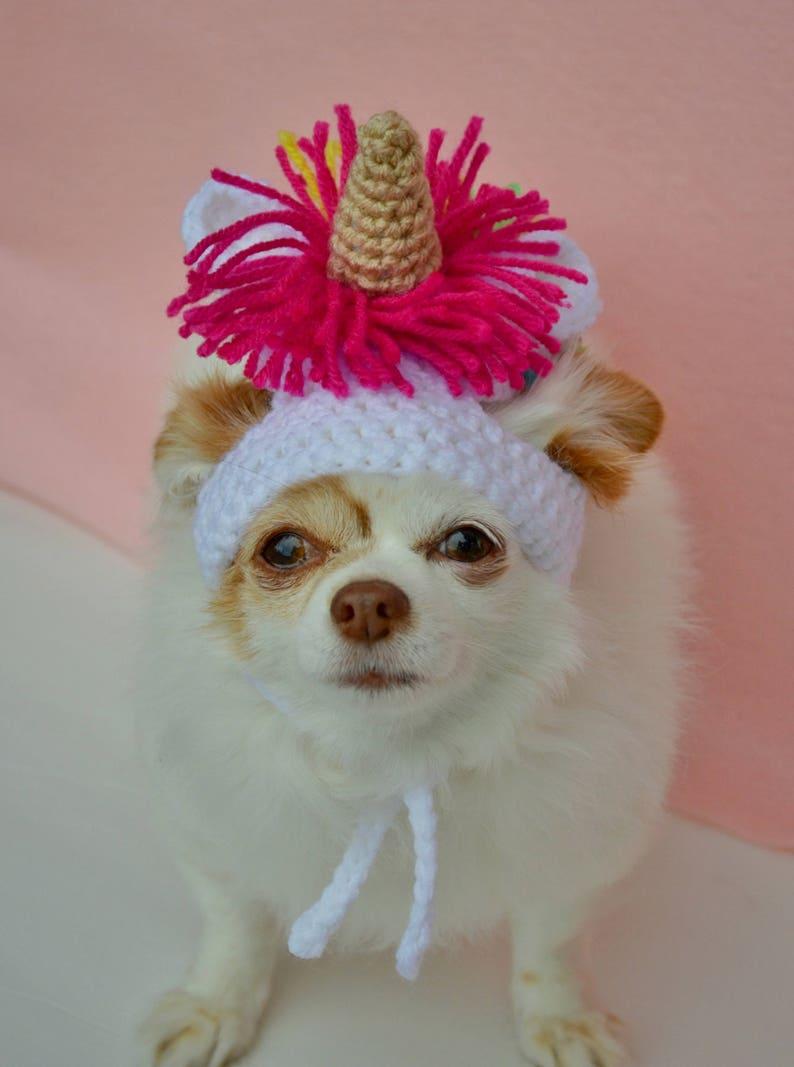 Dog Halloween Costume Cat Unicorn Hat Rainbow Pet Costume Large Dog Costume Dog Unicorn Hat Unicorn Crochet Cat Costume
