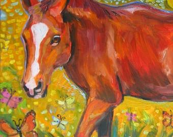 Horse Art Print by Gena Semenov - FREE Shipping USA