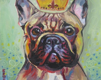 I Will Paint Your French Bulldog - SALE