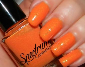 SWEET NECTAR Pastel Orange Spring  Nail Polish