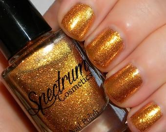 Gold Glitter Nail Polish ALL THAT GLITTERS