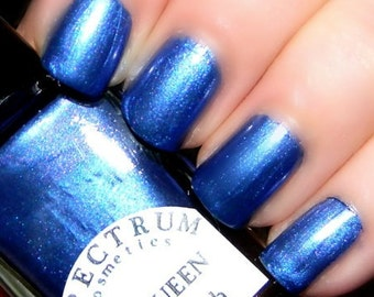 ICE QUEEN Blue Violet Nail Polish Winter Blues Collection