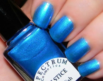 SOLSTICE Blue Nail Polish Winter Blues Collection