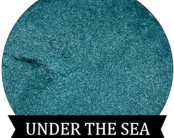 Teal Mineral Eyeshadow UNDER THE SEA